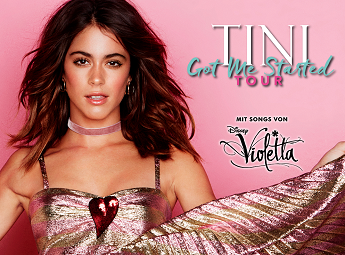 TINI - Got Me Started Tour - Der Violetta-Star Live